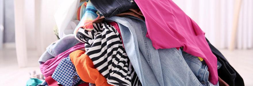 vêtements d'occasion