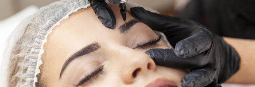 Maquillage permanent sourcils