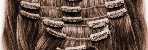 Achat d'extensions de cheveux naturelles à clips